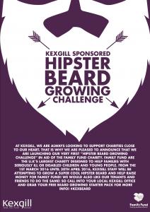 Beard Growing Challenge