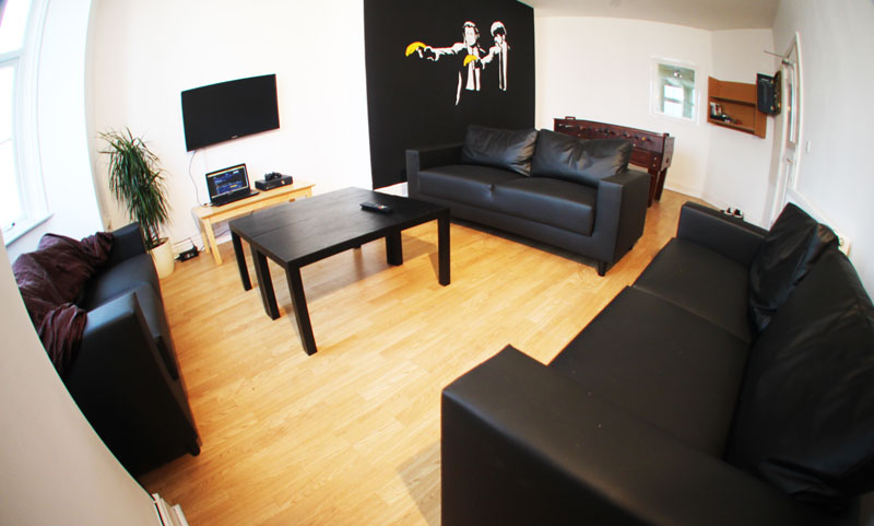 Student Living Room in Bradford
